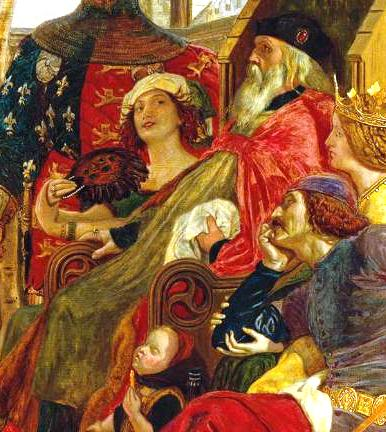 Chaucer at the Court of Edward III 1856-68 Ford Madox Brown 1821-1893 Purchased 1906 http://www.tate.org.uk/art/work/N02063